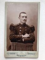 Cdv Soldat Militair Francais Regiment 3 Photo Jude Arras - Guerre, Militaire