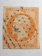 16 Type 1 Cachet Particulier!? Cote 18€ - 1853-1860 Napoléon III.