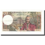 France, 10 Francs, 1971, 1971-02-04, SUP, Fayette:62.49, KM:147c - 10 F 1963-1973 ''Voltaire''