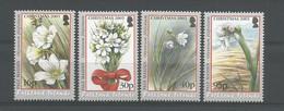Falkland 2003 Christmas Flowers Y.T. 869/872 ** - Falklandinseln