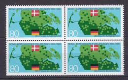 BRD - 1985 - Michel Nr. 1241 Viererblock - Postfrisch - [7] Federal Republic