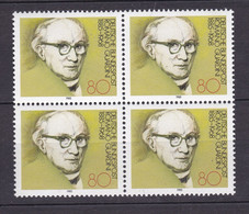 BRD - 1985 - Michel Nr. 1237 Viererblock - Postfrisch - [7] Federal Republic