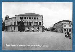 FIUME VENETO UDINE PIAZZA G. MARCONI ALBERGO ZANIN VG. N°A179 - Udine