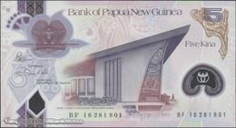 TWN - PAPUA NEW GUINEA 51 - 5 Kina 2016 (2017) Polymer - Prefix BF - Signatures: Bakani & Vele UNC - Papua Nuova Guinea