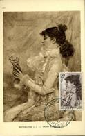 Sarah Bernard Cachet Paris Rue Du Conservatoire 16/5/1945 Carte édition Braun - 1940-49