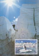 Carte  Maximum   1er  Jour   T.A.A.F    Terre  Adélie   Sentinelle  Du  Climat   2015 - Lettres & Documents