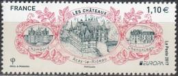 France 2017 Europa CEPT Châteaux Neuf ** - Francia