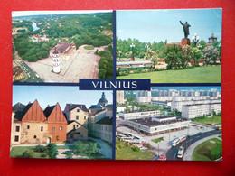 Vilnius - Вільня - Kathedrale - Lenin Denkmal - Litauen - Litauen
