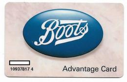 Carte à Puce Boots Chemist, U.K. Advantage Card, # Varios-5 - Otros