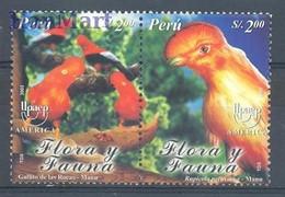 Peru 2003 Mi 1856-1857 MNH ( ZS3 PRUpar1856-1857 ) - Peru
