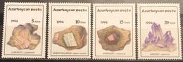 Azerbaijan, 1994, Mi: 136/39 (MNH) - Minerals