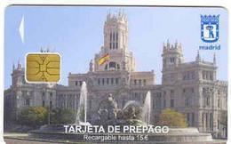 Ancien Carte à Puce De Stationnement, Madrid, Espagne, # Varios-10 - Tarjetas De Estacionamiento (PIAF)
