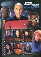 Palau 2008, Star Trek - The Next Generation, MNH S/S - Palau