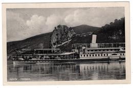 Devin, Theben, Schiff Uranus, Dampfer, Donau, Alte Ansichtskarte 1939, Schiff, Bratislava - Slovakia