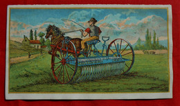 2 Feuillets Publicité Et Tarif/ Machines Agricoles G Duchamps Bxl / Attelage-cheval - Pubblicitari