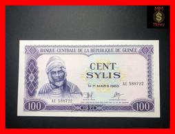GUINEA 100 Sylis 1971  P. 19  Little Stain  UNC - Guinea