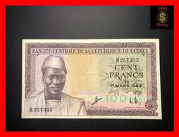 GUINEA 100 Francs 1.3.1960  P.  13  VF+ - Guinea