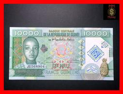 GUINEA  10.000  10000 Francs Guinéens 2010  P. 45 *COMMEMORATIVE*   UNC - Guinea