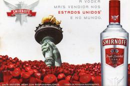 CPM - L - PUBLICITE BRESILIENNE POUR LA VODKA SMIRNOFF - Advertising