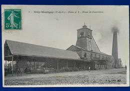Billy-Montigny Fosse N°2  MINES De COURRIERES - Bergbau