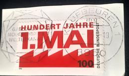 Crystal  Minerals  Postmark Special Gablonzer Modeschmuck Weltbekannt,Kaufbeuren, Bundespost - Minerals