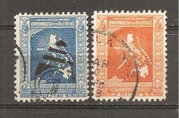 Filipinas  Nº Yvert  291-92 (usado) (o) - Philippinen