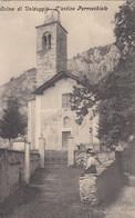 SELVA DI VALDUGGIA-VERCELLI-L'ANTICA PARROCCHIALE-CARTOLINA VIAGGIATA-IL 30-3-1910 - Vercelli