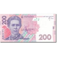 Billet, Ukraine, 200 Hryven, 2007, 2007, KM:123a, NEUF - Ucraina