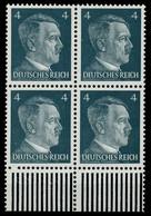 3. REICH 1941 Nr 783 Postfrisch VIERERBLOCK URA X7800BA - Nuovi