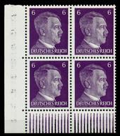 3. REICH 1941 Nr 785a Postfrisch VIERERBLOCK ECKE-ULI X78011E - Nuovi