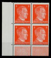 3. REICH 1941 Nr 786 Postfrisch VIERERBLOCK ECKE-ULI X78013E - Nuovi