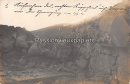2 CARTES PHOTO ALLEMANDES  VAUQUOIS  1916 - Other Municipalities