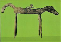 Estátua Equestre Timor-Leste C.1940 Colecção Museu Do Oriente Portugal - East Timor