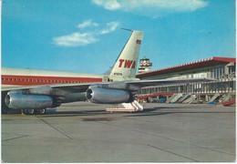 """Fiumicino - Intercontinental  Airport Of Roma / Rome ,,Leonardo Da Vinci """" Italy,Italia,plane TWA - Aérodromes"""
