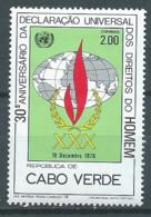 Cap Vert YT N°402 Déclaration Universelle Des Droits De L'homme Neuf ** - Cap Vert