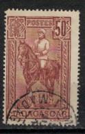 MADAGASCAR         N°  YVERT   :  184     ( 1 )      OBLITERE       ( OB  9/39 ) - Usados