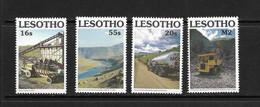 LESOTHO 1990 AMENAGEMENT DES RESSOURCES EN EAU YVERT N°908/11 NEUF MNH** - Lesotho (1966-...)