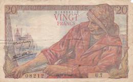 France - Billet De 20 Francs Type Pêcheur - 12 Février 1942 - 20 F 1942-1950 ''Pêcheur''