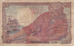 France - Billet De 20 Francs Type Pêcheur - 24 Septembre 1942 - 20 F 1942-1950 ''Pêcheur''