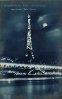 Exposition Des Arts Decoratifs Vue De Nuit Tour Eiffel CITROEN  Recto Verso - Tour Eiffel
