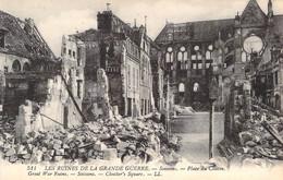 02 - Soissons - Place Du Cloître - Ruines (Guerre 14 - 18) - Soissons