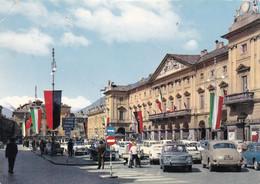 AOSTA M. 583 PIAZZA E. CHANOUX E MUNICIPIO FG COLORI LICIDA VIAGGATA 1969 OTTIME CONDIZIONI - Aosta