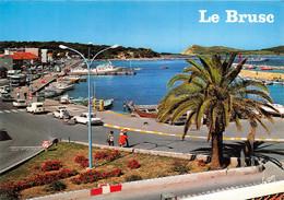 LE BRUSC Le Port Et Le Bateau Pour Les Embiez 30(scan Recto-verso) MA1517 - Sonstige Gemeinden