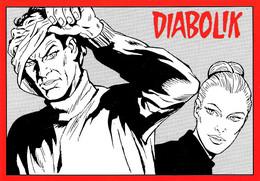 [MD5726] CPM - DIABOLIK - FUMETTI - ASTORINA - PROMOCARD 1020 - PERFETTA - Non Viaggiata - Comicfiguren