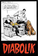 [MD5730] CPM - DIABOLIK - FUMETTI - ASTORINA - PROMOCARD 989 - PERFETTA - Non Viaggiata - Comicfiguren