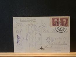 91/406  CP CESKOSL. POUR ALLEMAGNE 1934 - Covers & Documents