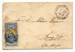 Brief Russisch Polen, Kalisz 1905 Nach Greiz (ohne Inhalt) - Brieven En Documenten