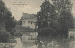 Ansichtskarte Bad Wildungen Musik-Pavillon Im Kurpark, Wildungen 7.9.1908 - Cartas