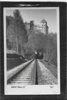 AK 0587  Schloss Klaus Mit Dampfeisenbahn ( Tunnel ) - Foto Oth Um 1956 - Traun