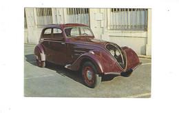 THEME VOITURES   43 PEUGEOT 1938 MUSEES AUTO DU MANS ET DE CHATELLERAULT  ****  RARE  A  SAISIR  ******* - Turismo